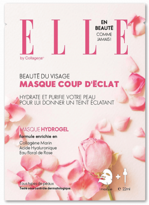 ELLE Face Mask with Damascus Rose