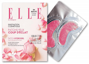 ELLE Eye Patches with Damascus Rose