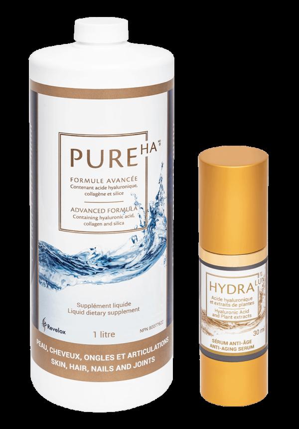 Hydration Duo Bundle - PureHA & HydraLux
