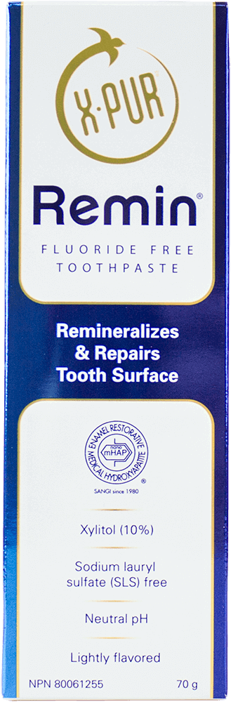 X-PUR Remin toothpaste